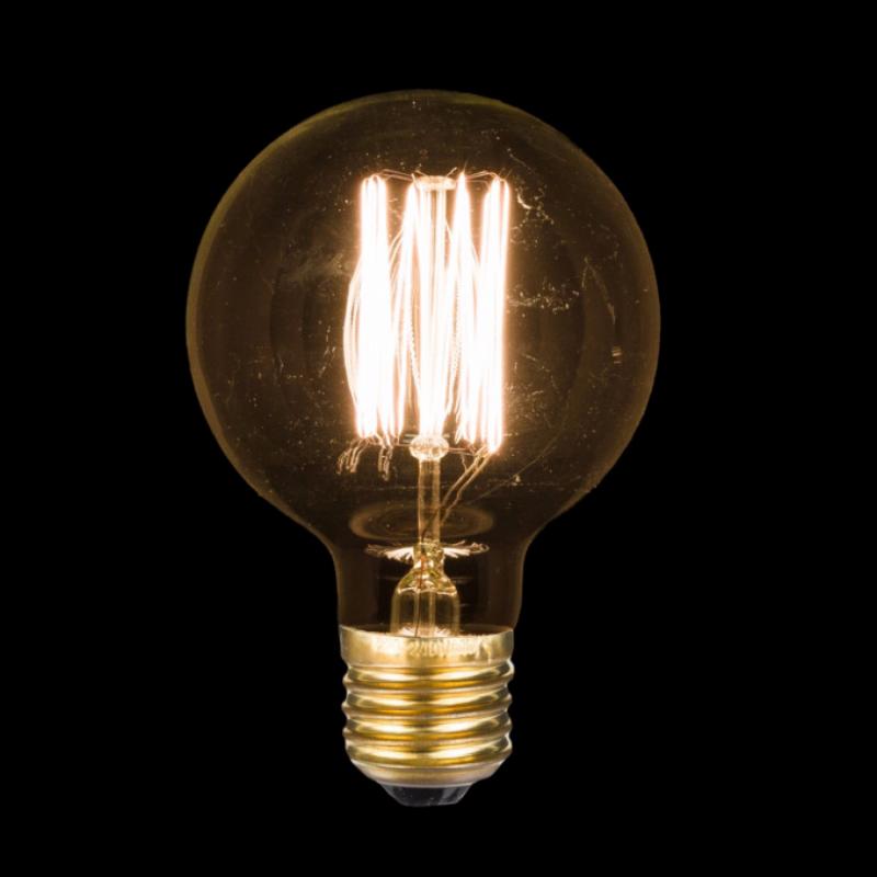 ampoule deco globe gm 40w d12 e shop d co par ambiances et mati res. Black Bedroom Furniture Sets. Home Design Ideas