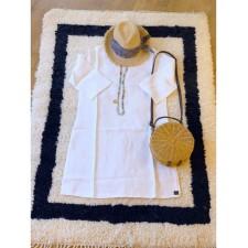 TUNIK NAIS TAILLE L/XL BLANC - Harmony Textile