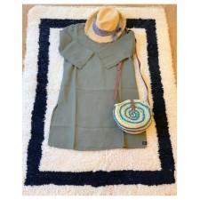 TUNIK NAIS TAILLE S/M KAKI - Harmony Textile