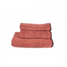 SERVIETTE DE TOILETTE INVITEE ISSEY ARGILE 30X50 CM - Harmony Textile