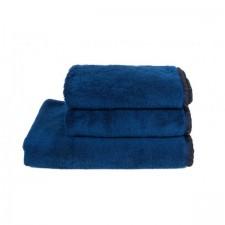 SERVIETTE DE TOILETTE INVITEE ISSEY INDIGO 30X50 CM - Harmony Textile
