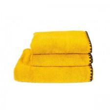 SERVIETTE DE TOILETTE INVITEE ISSEY SAFRAN 30X50 CM - Harmony Textile