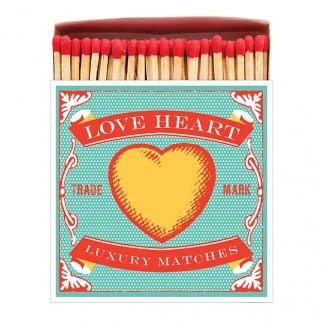 BOITE D'ALLUMETTES LOVE HEART ARCHIVIST