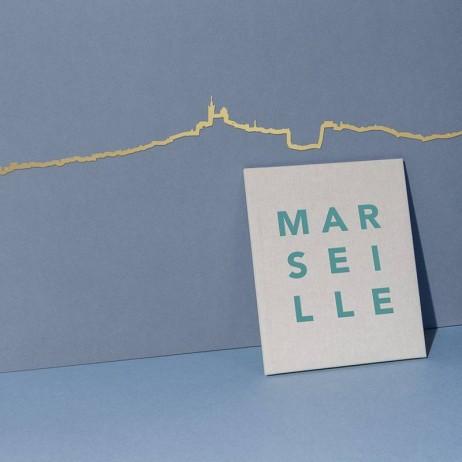 THE LINE FRISE DECORATIVE MARSEILLE GOLDEN - THE LINE