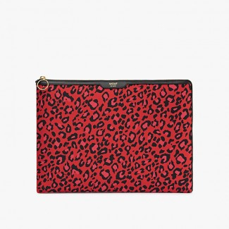 POCHETTE ORDINATEUR RED LEOPARD 13""
