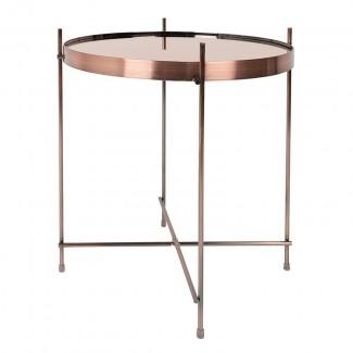 TABLE CUPID CUIVRE DIAM.43 H.45CM Zuiver