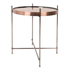 TABLE CUPID CUIVRE DIAM.43 H.45CM