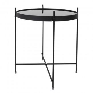 TABLE CUPID BLACK DIAM.43 H.45CM Zuiver