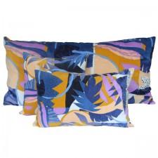 COUSSIN PAPERCUT 45X45 INDIGO - Harmony Textile