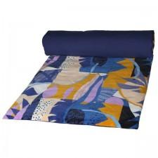 EDREDON PAPERCUT 85X200 INDIGO - Harmony Textile