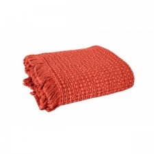 COUVRE LIT TEMPO II 180X260 ARGILE - Harmony Textile