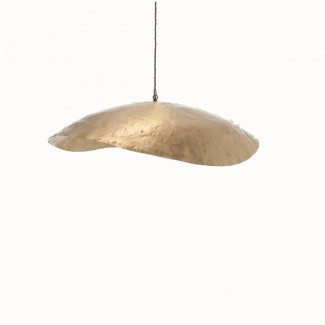 SUSPENSION BRASS 95 EN LAITON D.80CM