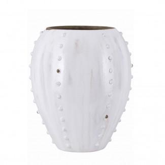 Vase Knots White D20 x H25