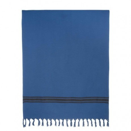 DRAP DE BAIN TUITTI INDIGO 90X180 - Harmony Textile