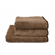 DRAP DE BAIN ISSEY TABAC 90X140 CM - Harmony Textile