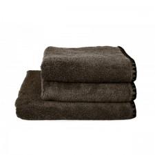 SERVIETTE DE TOILETTE INVITEE ISSEY BROWNIE 30X50 CM - Harmony Textile