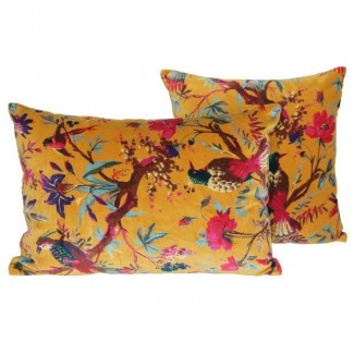 COUSSIN BIRDY PETROLE 45X45