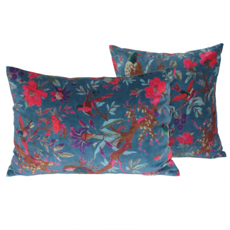 COUSSIN BIRDY PETROLE 40X60