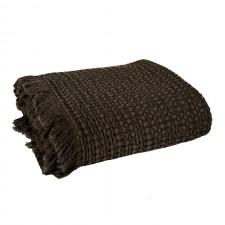 PLAID TEMPO II 130X200 BROWNIE - Harmony Textile