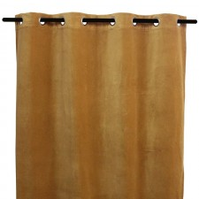 RIDEAUX VELOURS DELHI 135X300 - Harmony Textile