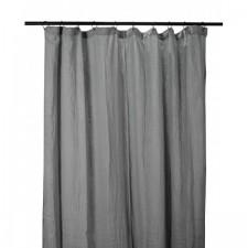 RIDEAUX COTON DILI 120X280 GRANIT - Harmony Textile