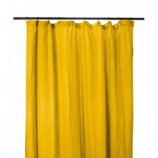 RIDEAUX COTON DILI 120X280 SAFRAN - Harmony Textile