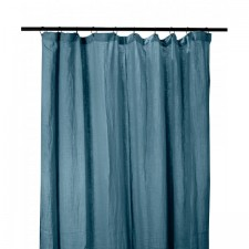 RIDEAUX COTON DILI 120X280 DENIM - Harmony Textile