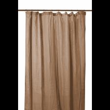 RIDEAUX COTON DILI 120X280 TABAC - Harmony Textile
