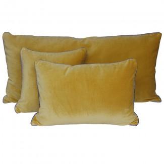 Coussin velours DELHI 40X60 Harmony Textile