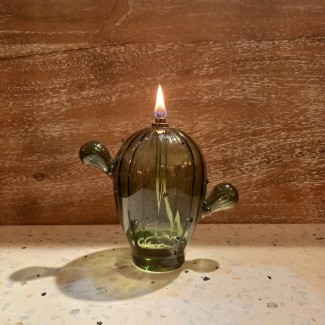 LAMPE A HUILE S CACTUS
