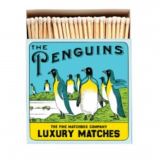 BOITE D'ALLUMETTES PINGOUINS