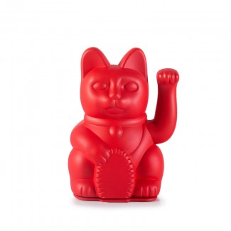 CHAT PORTE-BONHEUR ICONIC RED