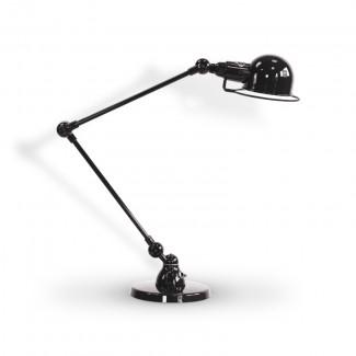 LAMPE A POSER SIGNAL SI333 2X30CM / NOIR BRILLANT 9011 JIELDE