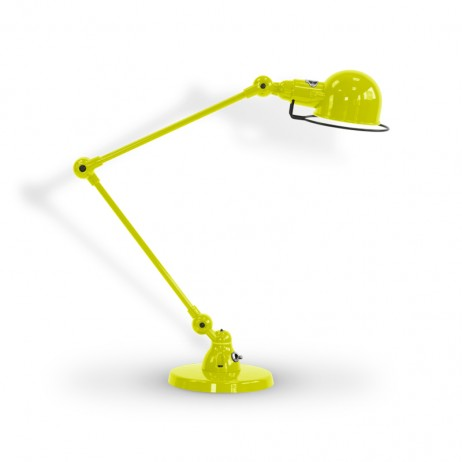 LAMPE A POSER SIGNAL SI333 2X30CM / JAUNE SOUFRE 1016 - JIELDE