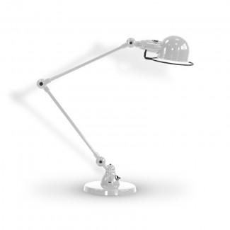 LAMPE A POSER SIGNAL SI333 2X30CM / GRIS ARGENT 9006