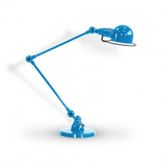 LAMPE A POSER SIGNAL SI333 2X30CM / BLEU CLAIR 5012 JIELDE