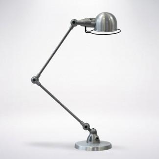 LAMPE A POSER SIGNAL SI333 2X30CM / ACIER BROSSE JIELDE