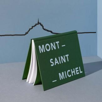 THE LINE FRISE DECORATIVE MONT SAINT MICHEL NOIR