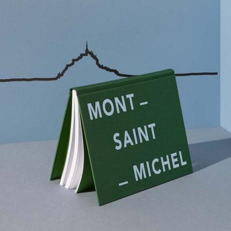 THE LINE FRISE DECORATIVE MONT SAINT MICHEL NOIR - THE LINE