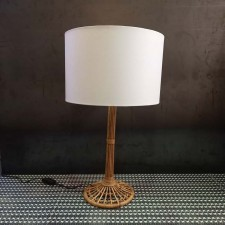 LAMPE BAMBOU DE TABLE