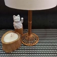 LAMPE A POSER BAMBOU - BAZAR DELUXE