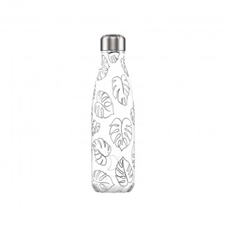 BOUTEILLE CHILLY'S 500ML LINE ART LEAVES