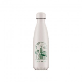 Bouteille isotherme inox 500ML CITY BREAK NEW YORK CHILLY'S