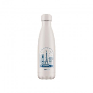 Bouteille isotherme inox 500ML CITY BREAK PARIS CHILLY'S