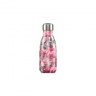 Bouteille isotherme inox 260ML TROPICAL/FLAMINGO CHILLY'S