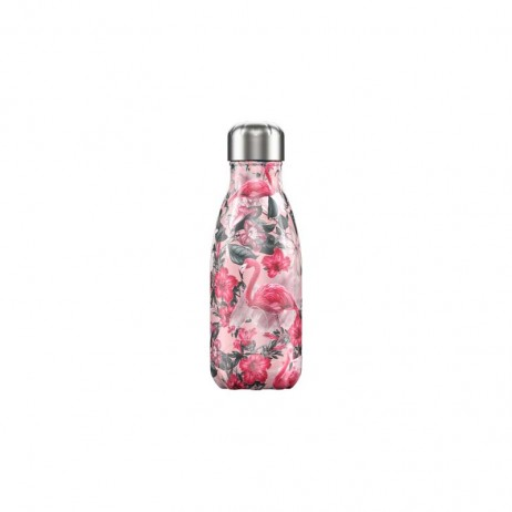 BOUTEILLE CHILLY'S 260ML TROPICAL/FLAMINGO - CHILLY'S