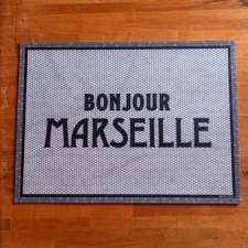 Set de table vinyle BONJOUR MARSEILLE 33X45