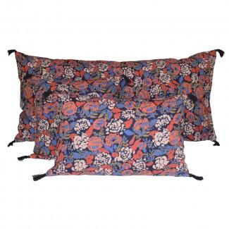 Coussin lin/coton CORON 45X45 Harmony Textile