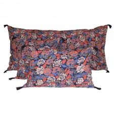 Coussin lin/coton CORON 45X45 - Harmony Textile