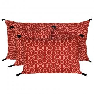 Coussin lin/coton UBUD 55X110 Harmony Textile